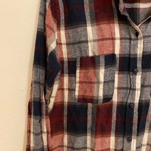 Flannel size L